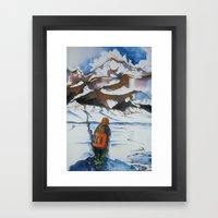 Undecided Framed Art Print