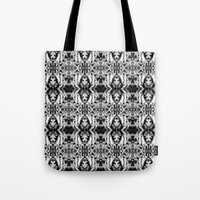 Tentacles Pattern Tote Bag