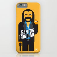 iPhone & iPod Case featuring Santos Trinidad by Marco Recuero