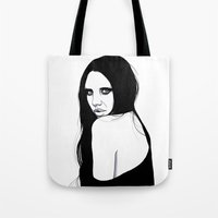 You Silent My Song Tote Bag