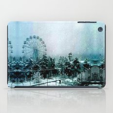 Cold Forest Playground iPad Case