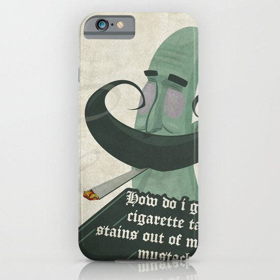 Tar mustache iPhone & iPod Case