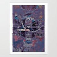 Disquiet Zero Art Print