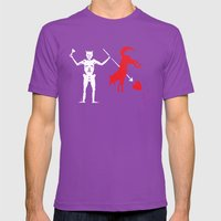 Beat State Mens Fitted Tee Ultraviolet SMALL