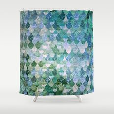 REALLY MERMAID Shower Curtain