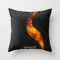 Elements | Fire Throw Pillow