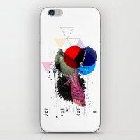 bird colours iPhone & iPod Skin