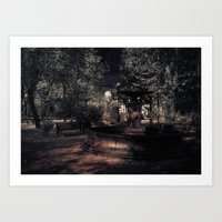 Afterlife: the still world Art Print