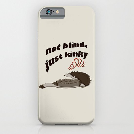 Not blind, just kinky! iPhone & iPod Case