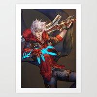 DMC4 Art Print