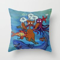 Out Of Reality. Throw Pillow