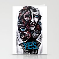 YES Bear Stationery Cards