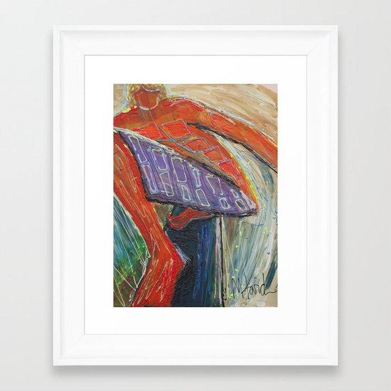 Hogan Framed Art Print