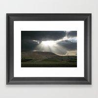Rays Of Goodness Framed Art Print