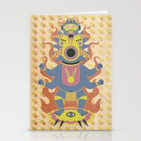 They Came From The Brain Stationery Cards