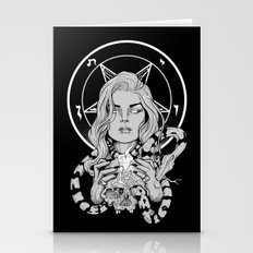 Black Mass Ritual Stationery Cards