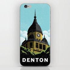 Denton Courthouse  iPhone & iPod Skin