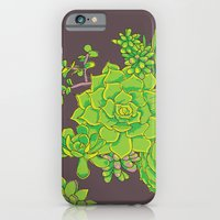 Succulent Pattern iPhone 6 Slim Case
