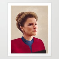 Star Trek: Janeway Art Print