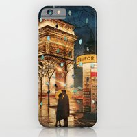 iPhone Cases featuring Rain Cant Touch Us by Ben Giles