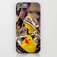 iPhone & iPod Case featuring SPOON DUCK by Annamaria Kowalsky