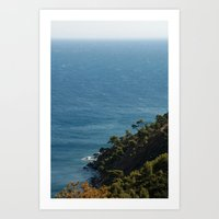 Sea landscape 1766 Art Print