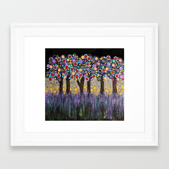 :: When Night Falls :: Framed Art Print