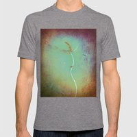 Rope floating in water Mens Fitted Tee Tri-Grey SMALL