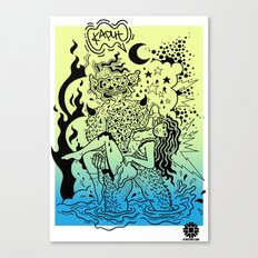 KAPUT X STREETART.COM Canvas Print