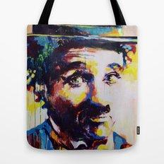 Charlie Chaplin Tote Bag