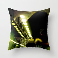 The Unknown Throw Pillow