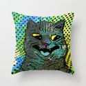 A CAT. Throw Pillow