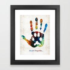 Rainbow Bridge Art - Nev… Framed Art Print