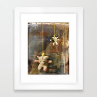 Teddy Framed Art Print