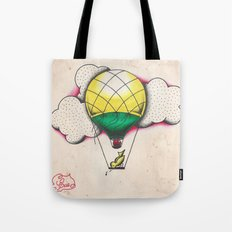 Bird Balloon Tote Bag