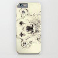 Polar Bear Smiling Black… iPhone 6 Slim Case