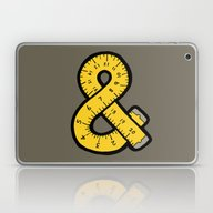 Ampersand Measuring Tape Laptop & iPad Skin