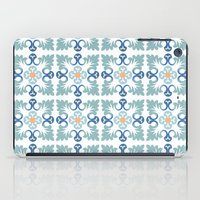 Floor tile 5 iPad Case