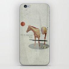 Take The Money and Run iPhone & iPod Skin
