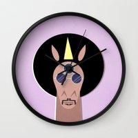 3rd Eye Unicorn Wall Clock