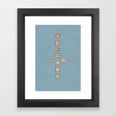 Super Mario Bros. 3 Framed Art Print