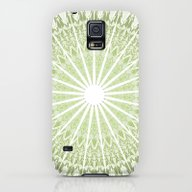 Green Mandala Galaxy S5 Slim Case