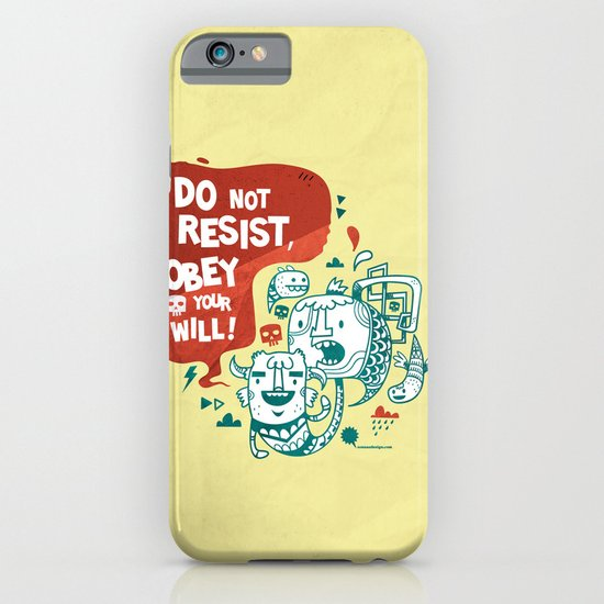 Obey your will iPhone & iPod Case
