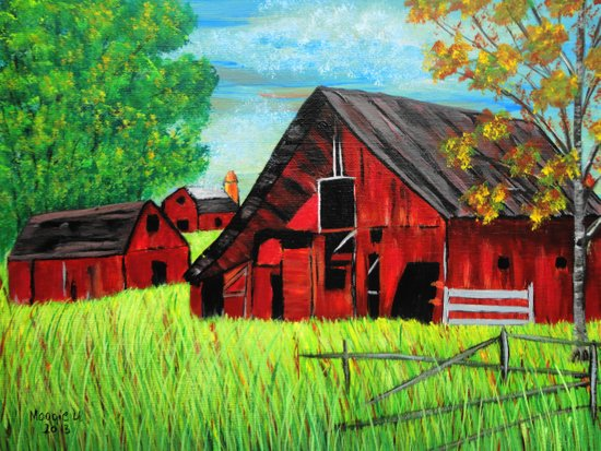 Old Farm 2 Art Print
