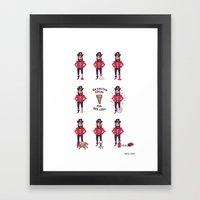 Rejected Ideas for Peg Legs Framed Art Print