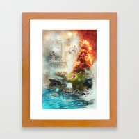The 4 Elements Of The Zo… Framed Art Print