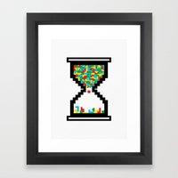 Game Time Framed Art Print