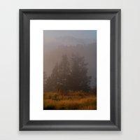 Morning Mist Poon Hill Framed Art Print