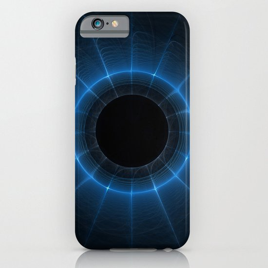 Blue Spiral iPhone & iPod Case