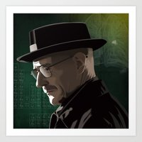 Breaking Bad Illustrated… Art Print